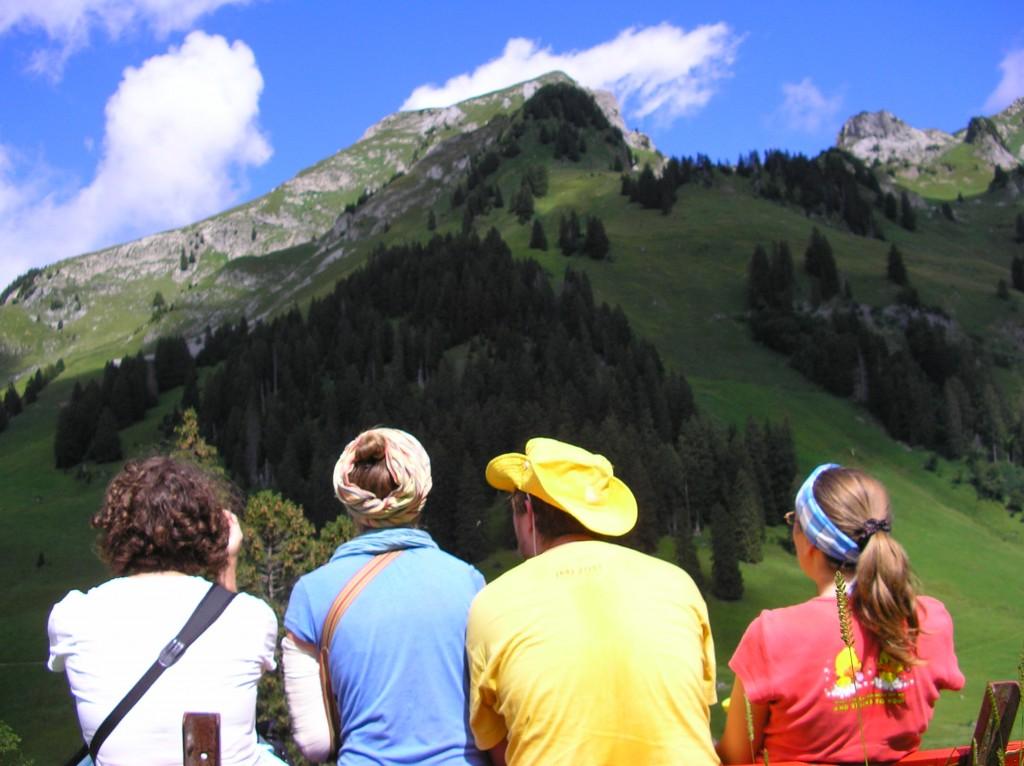 Jaunimo piligriminė kelionė Šveicarijoje